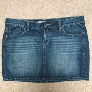 Old Navy size 10 denim skirt